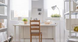 5 spôsobov, ako si bez veľkých investícií vytvoríte pohodlnú domácu kanceláriu